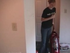 Ada helps cleaning house, firegirls.com