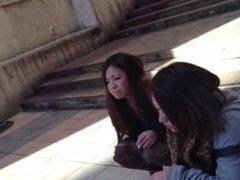 Smoking Girls in Japan