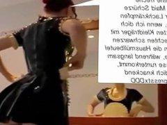 Die Latex Maid Luder - Scheiss Transvestitenschweine