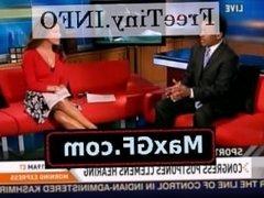 CNN Headline News' Sexy Robin Meade bitch scandal sex taper porn lesbian