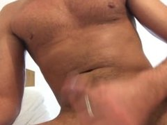 Vibrating cock ring masturbation
