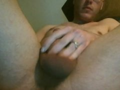 Horny Twink Screws Vibrator And Cums