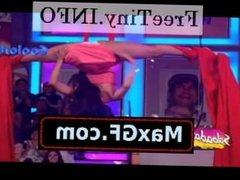 alma cero super upskirts en minivestido rosa HD