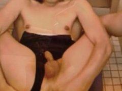 Crossdresser cum compilation with sexy smoker