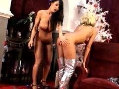 Xmas presents for Gorgeous Briana Blair & Lisa Ann