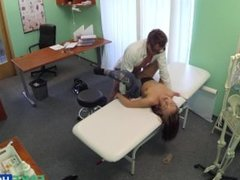 Cheating Girlfriend gets fucked by the doctor