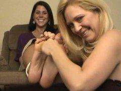 Big Feet Tickling