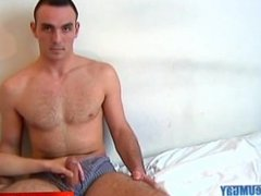 Big cock: Sylvain bi guy serviced his big cock by us!