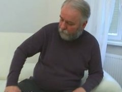 Old Goes Young - Maria lets an old guy fuck her
