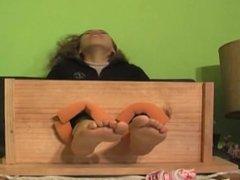 camila bare feet tickle