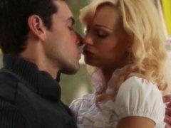 ultra stunning blonde and her boyfriend