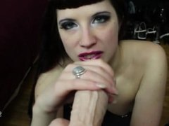 Brookelynne Briar Instructs Your To Jerk Off While She Sucks Cock