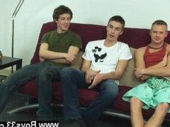 Twink movie Preston, Ashton and Leon are here at the