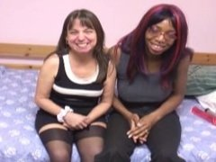 black teen and mature white woman pornvideo