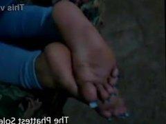 long toenails and long nails