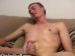 Sexy men With Mr. Hand jacking and playing with his nuts it doesn't take