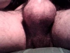 Solo-Playing with my Big Spicy Balls & Huge Hairy Scrotum(Ball's Bag)
