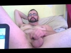 Hot Stud Eats His Cum After Jerking Off His Big Cock