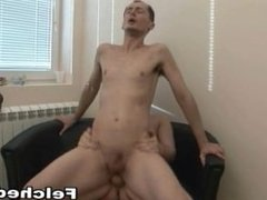 Felched Gay Suck Cock and gets Hardcore sex