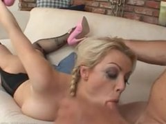 Adrianna Nicole - Gets Face Fucked Then Gargles And Swallows 4 Loads Of Cum
