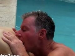 Hot gay sex Daddy Brett obliges of course, after sharing some oral and