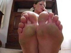 phone foot worship