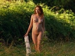 Christa Theret nue