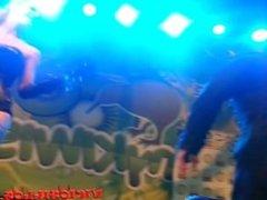 Caroline De Jaie y Max Rajoy incredible fuck on stage by Viciosillos.com