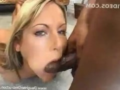 4 big black cocks for her mouth