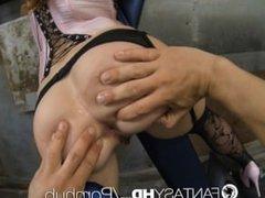 HD FantasyHD - The ultimate caged submissive hottie Dani Jensen