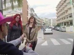 Camila montaban junto a Sandra milka y Nacho Vidal
