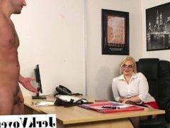 Lady Voyeurs - Jerk For A Job - Steph Lockhart