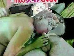 Horny mom gets fucked on webcam