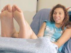 Ebony girl feet interview