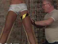 Gay sex Slave Boy Made To Squirt