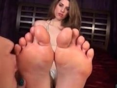 Girl/Girl foot worship