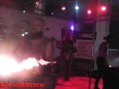Alexia Doll & Martin Martyr fakir sex show on stage by Viciosillos.com
