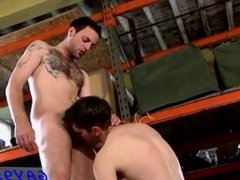 Hot twink scene Rammed and plunged in numerous positions, Riley splatters