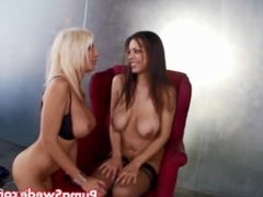Big Tit Euro Blonde Puma Swede & Yuri Luv Fuck Photographers for Facial!