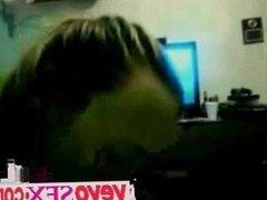 Amateur redhead girlfriend interracial threesome - vevosex.com