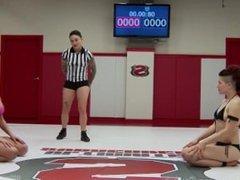 Ariel X Dominates Wrestling Rookie