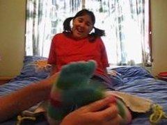 Tickling Tickle Toe socks