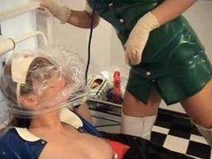 Latex Nurse Breathplay