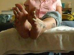 long green mature toenails