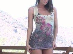 Beautiful Tori Black Striptease