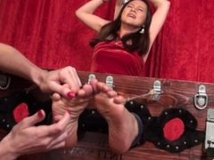 Japanese feet tickle7