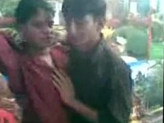 BANGLADESHI - Horny Young Lover Kissing In A Studio