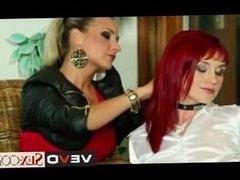 Euro Lesbian Babe Lesbian Domination vevoSex.com