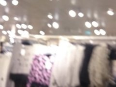 H&M Store Blowjob