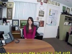 Porn audtion babe shows her interview skills